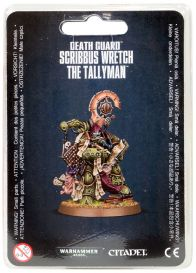 Death Guard Scribbus Wretch the Tallyman