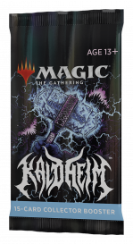 MTG: Kaldheim. Collector booster